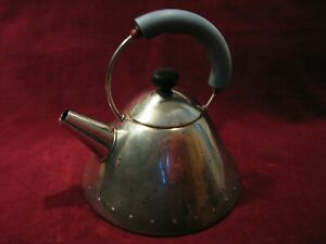 Vintage-Alessi-Michael-Graves-18-10-Inox-Stainless-Tea-Pot-Kettle-Italy