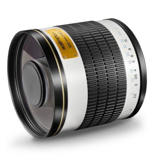 Walimex pro 500 6,3 para Canon EOS 60d 700d 5d 5d Mark II MarkII 2 3 6d 7d nuevo!!!