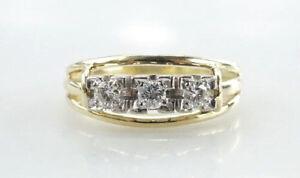 Ring-585er-Gold-Allianz-Goldring-Brillantring-14-Kt-Echtgold-3-86-Gramm-Gr-50