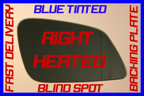 DOOR WING MIRROR GLASS BLUE HEATED RIGHT BMW F30 3 SERIES 5 DOOR SALOON 2011