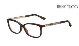 ea7777cc8c Image is loading JIMMY-CHOO-Glasses-Frames-JC190-9N4-Havana-Brown-