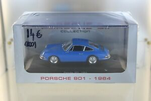 modele-reduit-Porsche-901-1964-Atlas-collections-miniature-maquette-1-43-911