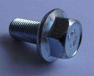 10 Small Head Class 10.9 Zinc M10-1.25 x 45mm JIS Hex Head Flange Bolt