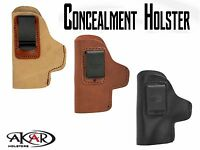 Smith & Wesson 686 4 Iwb Inside Pants Ccw Clip-on Left Hand Holster