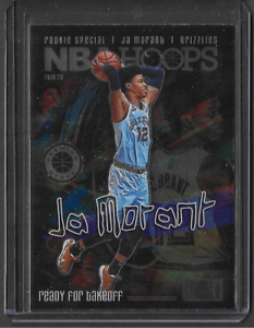 2019-20 NBA Hoops Premium JA MORANT Ready For Takeoff #SPEC2 Case Hit SP Card