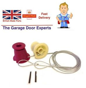Image Is Loading NEW King Garage Door Cones Amp Cables Wires