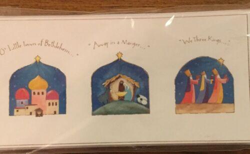 Support WESC Foundation Charity cartes de Noël 10 Pack-Noël Carol Design