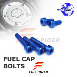 FRW-Dark-BU-Fuel-Cap-Bolts-Set-For-Yamaha-YZF-R1-99-14-00-01-02-03-04-05-06-07
