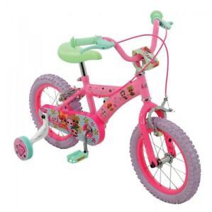 Dettagli Su Lol Sorpresa Bambine Bambini 14 Bicicletta Con Stabilizzatori 14 Pollici Copriruota 1 Velocità M14621 Mostra Il Titolo Originale