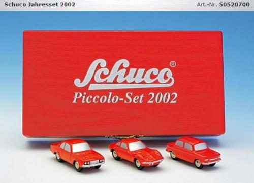 SCHUCO PICCOLO année Set 2002 AG 50520700