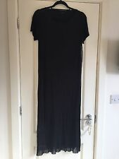 Gorgeous Cos T Shirt Short Sleeve Mesh Overlay Midi Dress Size S Worn Twice