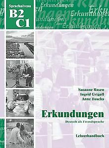 Erkundungen Deutsch als Fremdsprache B2/C1: Lehrerhandbu... | Buch | Zustand gut