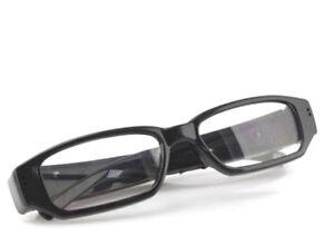 Mini HD Überwachungskamera Spionage-Brille Versteckte Kamera Video Foto Spy Cam