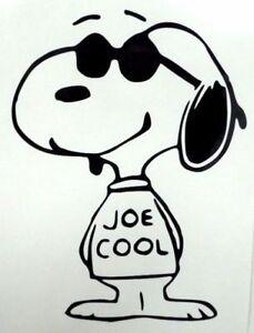 "Snoopy Joe Cool 4/"" Color Sticker"