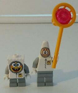 LEGO-Spongebob-Set-of-2-Spongebob-amp-Patrick-Mini-Figures-New-Without-Tags