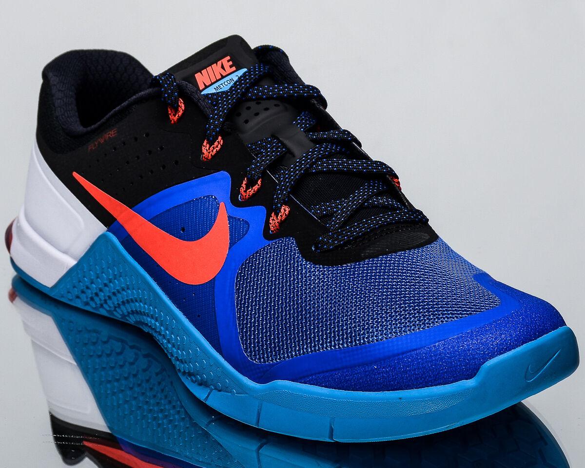 Nike Metcon 2 II uomo training train gym sneakers shoes NEW racer blue crimson Scarpe classiche da uomo