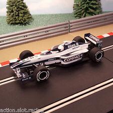 Scalextric 1:32 Auto-FORMULA UNO-Williams f1 BMW fw20 Compaq #10