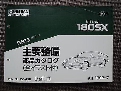 NISSAN GENUINE 180SX 240SX RPS13 Front Door Hood Bumper Pad Protector