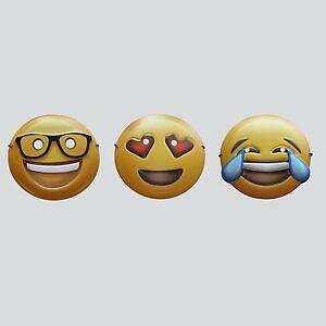 Emoji Masken Fasching Karneval Junggesellenabschied Party Smile