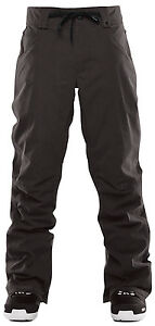 2017-NWT-MENS-THIRTYTWO-WOODERSON-SNOWBOARD-PANTS-Stn-Black-level-2-lining