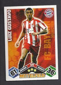 Luiz-Gustavo-Match-Attax-2010-11-Topzustand-Bayern-Muenchen