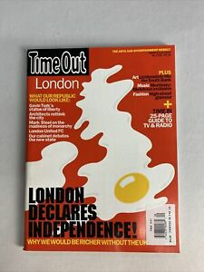 Time Out Magazine London March 2004 / Morrissey