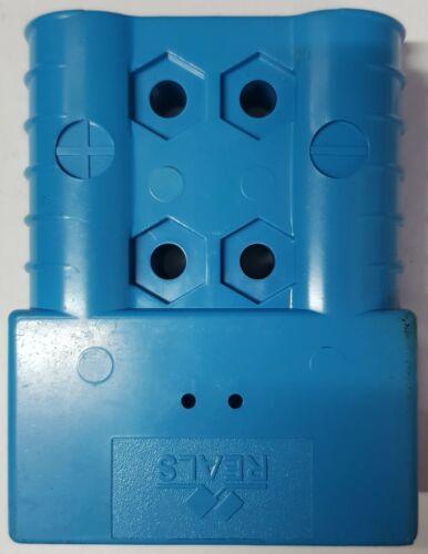 Conector batería 48 V azul 2 pines BT nº 110313 universalmente deichselstapler