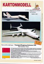 MDK-Verlag 4042 - Kartonmodell - Antonov An-225 Mrija - 1/100 - Länge 88cm