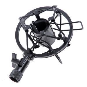 Metal-Handheld-Condenser-Microphone-Shock-Mount-Clip-mic-Studio-Holder-26-33mm
