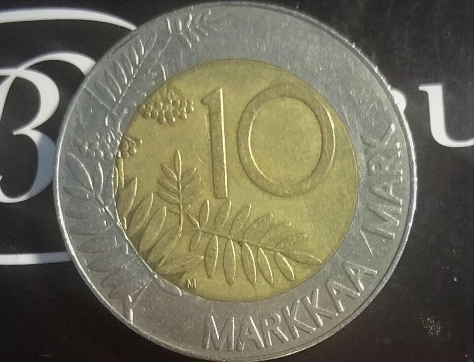 Skandinavien, mønter, 1993