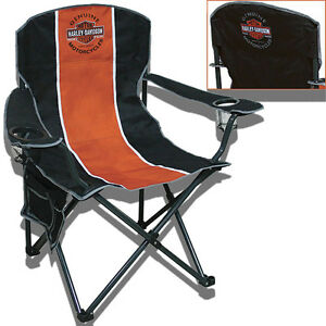 Harley-Davidson Extra Large Folding Camp Chair - CH31264 ...