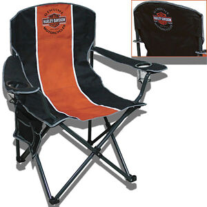 Harley Davidson Extra Large Folding Camp Chair Ch31264