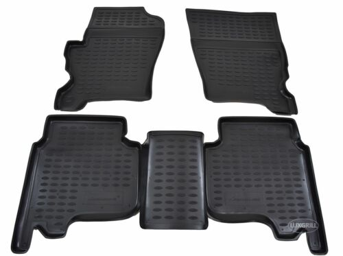 3D TAPPETI TAPPETINI AUTO IN GOMMA PER LAND ROVER DISCOVERY III IV  2004-2016