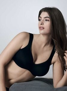 332c872ea4c40 Rosa Faia by Anita Twin Firm Wired Black Bra - Various Sizes