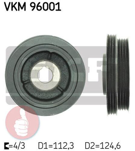 SKF Poulie vilebrequin VKM 96001