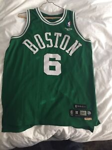 quality design ed4ef cf17e Details about Boston Celtics Bill Russell Authentic Jersey