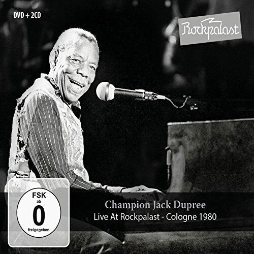 Champion Jack Dupree - Live At Rockpalast: Cologne 1980 [New CD] With DVD