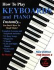 How to Play Keyboards and Piano Instantly: The Book 4 by Marcos, Marcos Habif (Paperback / softback, 2012)