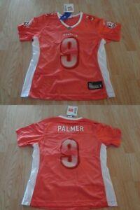 Women s Cincinnati Bengals Carson Palmer M NWT Reebok Glitter (Pink ... 70e5d4620
