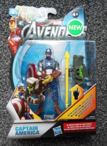 "Marvel Universe Captain America Shield Pop Up 4/"" Figure 2014 Avengers"