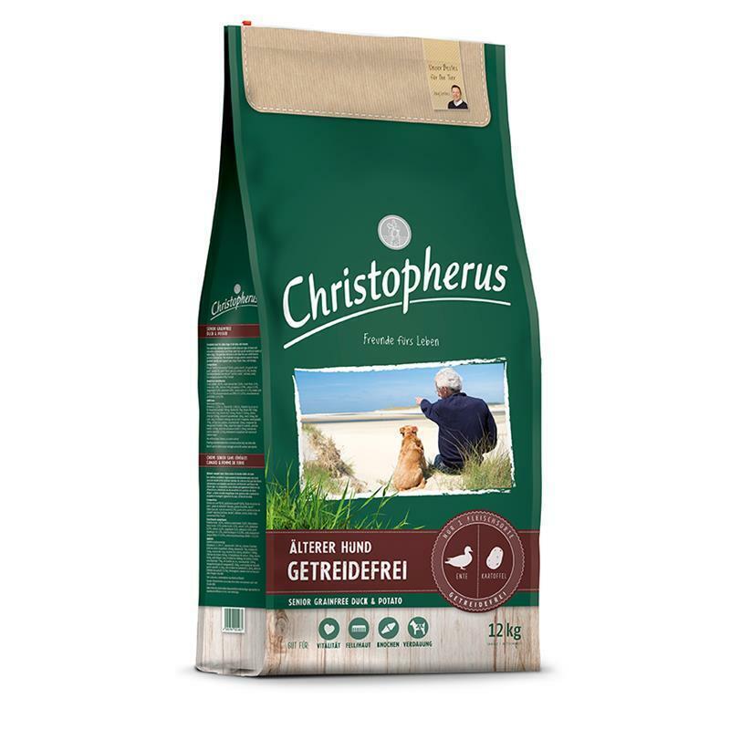 Cristoforo cereali libero Senior Anatra & Patate 12kg ** MIGLIOR PREZZO DI flixzoo