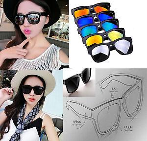 0013d9dcd52 Image is loading Women-Men-Vintage-Retro-Glasses-Unisex-Fashion-Aviator-