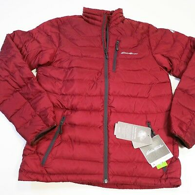 Eddie Bauer Mens First Ascent Downlight Stormdown Winter Jacket Medium Tall NEW