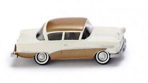 Wiking-008040-Opel-Rekord-034-Ascona-034-cream-gold-1957-1-87