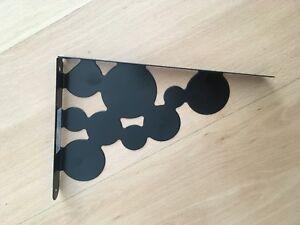 1x-IKEA-ekby-MANS-schwarz-1428-Regalhalter-20463-Halter-Neu-OVP-Black-Selten-RAR