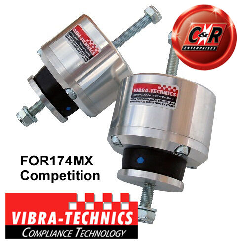 2 x Ford Sierra Cosworth 2WD Vibra Technics Engine Mounts Competition FOR174MX