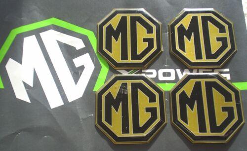 MGZT MG ZT MGZT-T Alloy wheel centre badge inserts 4 off Pearlesant Yellow