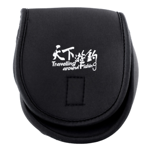 Spinning Casting Reel Case Protective Cover Neoprene Sports Durable Fishing Bag