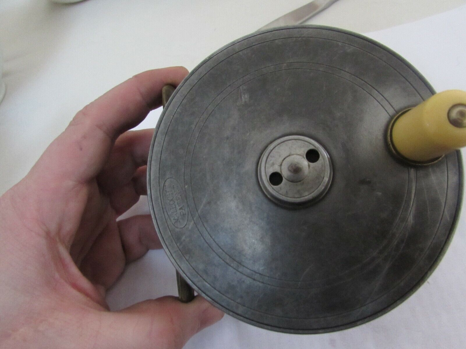 Vintage malloch  perth alloy centrebrake platewind salmon fly fishing reel 4.5  .  buy 100% authentic quality
