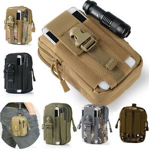 Tactical-Molle-Pouch-Belt-Waist-Pack-Bag-Waist-Fanny-Pack-Phone-Pocket